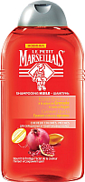 Шампунь для волос Le Petit Marseillais Для окрашенных волос гранат и масло арганы (250мл) -