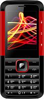 Мобильный телефон Vertex D532 (черный/красный) -