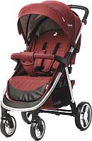 Детская прогулочная коляска Carrello Unico CRL-8507 (deep red) -