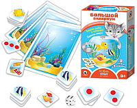 Набор игр Русский стиль Большой аквариум / 02046 -