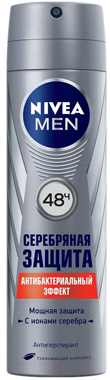 Купить Дезодорант-спрей Nivea, Men серебряная защита (150мл), Россия