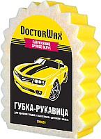 Губка для мытья автомобиля Doctor Wax Мечта лентяя / DW8639 -