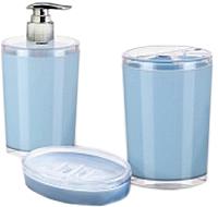 Набор аксессуаров для ванной Berossi Joli АС 47408000 (голубой) -