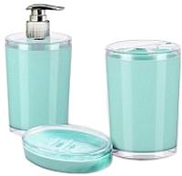 Набор аксессуаров для ванной Berossi Joli АС 47457000 (мятный) -