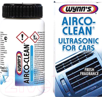 Очиститель системы кондиционирования Wynn's Airco-Clean Ultrasonic for Cars / W30205 (100мл)