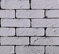 Декоративный камень Polinka Кирпич шамотный 0306 (серый) -