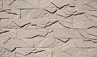 Декоративный камень Polinka Кирпичный скол бежевый 0802 (225x59x11-15) -
