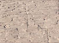 Декоративный камень Polinka Сланец Саянский бежевый 0102 (398x94x10-14) -