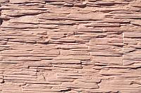 Декоративный камень Polinka Сланец Саянский коричневый 0104 (398x94x10-14) -