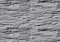 Декоративный камень Polinka Сланец Саянский серый 0106 (398x94x10-14) -