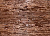 Декоративный камень Polinka Сланец Саянский каштан 0107 (398x94x10-14) -