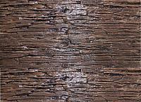 Декоративный камень Polinka Сланец Саянский бистр 0108 (398x94x10-14) -