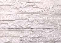 Декоративный камень Polinka Сланец Рифейский слоновая кость 0201 (398x94x10-14) -