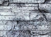 Декоративный камень Polinka Сланец Карпатский серый 1406 (395x95x16-20) -