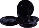 Набор тарелок Luminarc Harena Black N5162 (18шт) -