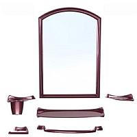Комплект мебели для ванной Berossi Stima НВ 10015001 (рубиновый перламутр) -