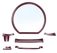 Комплект мебели для ванной Berossi Verona НВ 10115001 (рубиновый перламутр) -