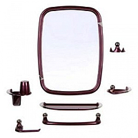 Комплект мебели для ванной Berossi Viva Classic НВ 10215001 (рубиновый перламутр) -