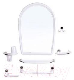 Купить Комплект мебели для ванной Berossi, Viva Elegance НВ 10301001 (белый), Россия