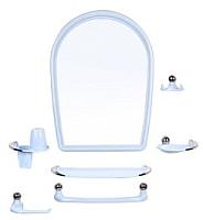 Комплект мебели для ванной Berossi Viva Elegance НВ 10308001 (голубой) -