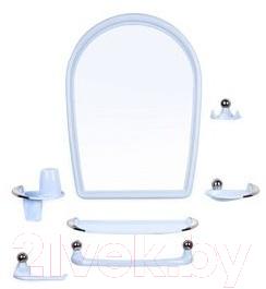 Купить Комплект мебели для ванной Berossi, Viva Elegance НВ 10308001 (голубой), Россия