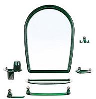 Комплект мебели для ванной Berossi Viva Elegance НВ 10311001 (зеленый полупрозрачный) -