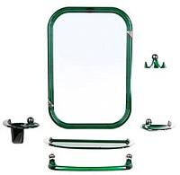 Комплект мебели для ванной Berossi Viva Style НВ 10411001 (зеленый полупрозрачный) -