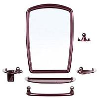 Комплект мебели для ванной Berossi Viva Gracia НВ 10515001 (рубиновый перламутр) -