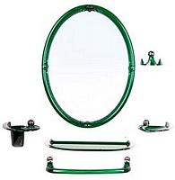 Комплект мебели для ванной Berossi Viva Sharm НВ 10711001 (зеленый плолупрозрачный) -