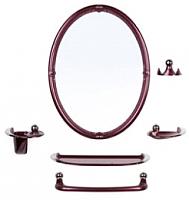 Комплект мебели для ванной Berossi Viva Sharm НВ 10715001 (рубиновый перламутр) -