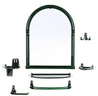 Комплект мебели для ванной Berossi Viva Danti НВ 10811001 (зеленый полупрозрачный) -