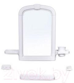 Купить Комплект мебели для ванной Berossi, Lira НВ 11204000 (белый мрамор), Россия