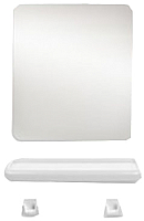 Комплект мебели для ванной Berossi Minima НВ 11704000 (белый мрамор) -