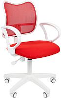 Кресло офисное Chairman 450LT (белый/красный) -