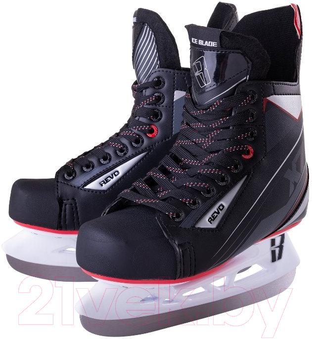 Купить Коньки хоккейные Ice Blade, Revo X7.0 (р-р 37), Россия, черный, пластик