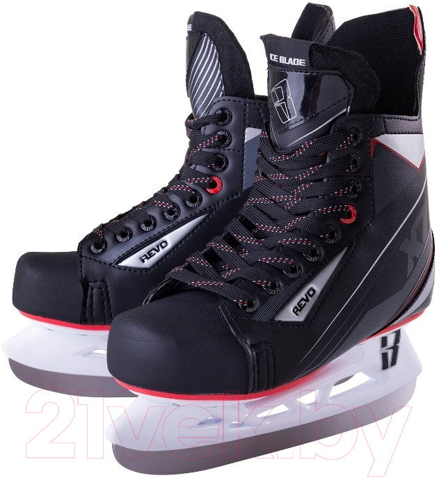 Купить Коньки хоккейные Ice Blade, Revo X7.0 (р-р 42), Россия, черный, пластик