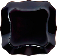 Тарелка столовая мелкая Luminarc Authentic Black J1335 -