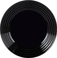 Тарелка столовая мелкая Luminarc Harena Black L7611 -