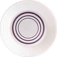 Тарелка столовая мелкая Luminarc Harena Purple L8387 -
