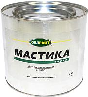 Гидроизоляционная мастика Oil Right Бикор (2кг, в жестяной банке) -