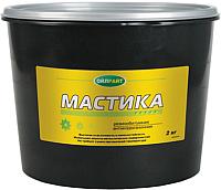 Гидроизоляционная мастика Oil Right Резинобитумная (2кг, в ведре) -