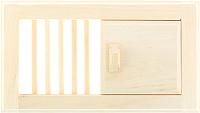Решетка вентиляционная для бани Добропаровъ 1311800 -