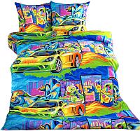 Комплект постельного белья Моё бельё Граффити 2 -