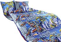 Комплект постельного белья Моё бельё Трансформеры 2 -