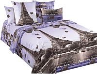 Комплект постельного белья Моё бельё Романтика Парижа 2 -