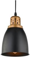 Потолочный светильник Arte Lamp Eurica A4248SP-1BK -