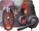 Мышь+коврик Defender DragonBorn MHP-003 / 52003 (с ковриком и гарнитурой) -