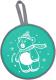 Санки-ледянка Ника ЛР40 Медвеженок (зеленый) -