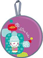 Санки-ледянка Ника ЛР45 (снеговик) -