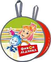 Санки-ледянка Ника ЛРФ45 Фиксик (зеленый) -